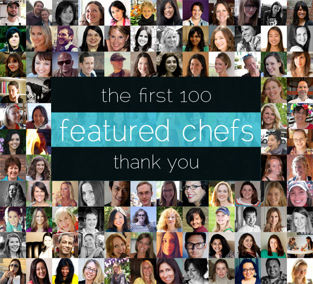 The First 100 Featured Chefs on NoshOnIt