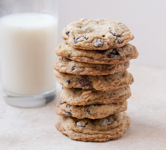 Gluten Free Loaded Chocolate Chip Cookies