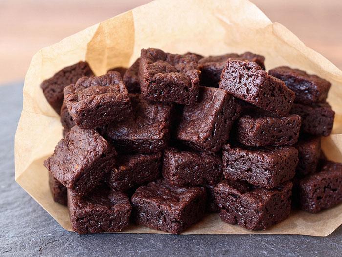 Gluten Free Bite Size Brownies