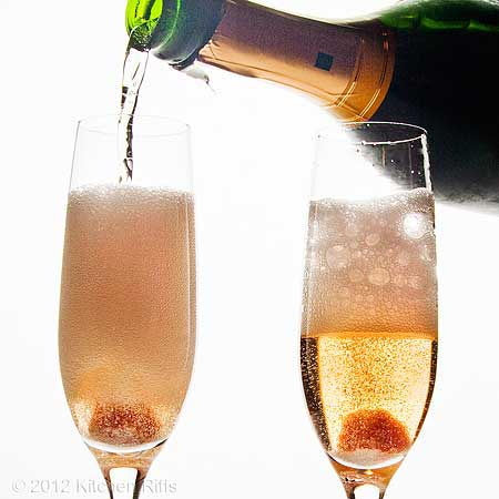 Ring in the new year with 9 champagne cocktails recipes for Champagne mixed drinks