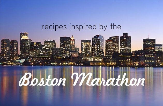 Recipes Inspired by the Boston Marathon