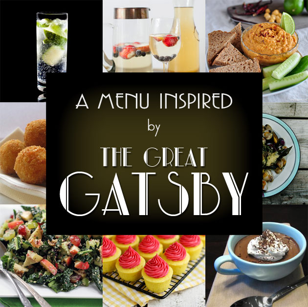 Great Gatsby Inspired MenuGreat Gatsby Party Food Ideas