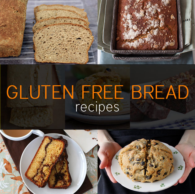 7 Gluten Free Bread Recipes