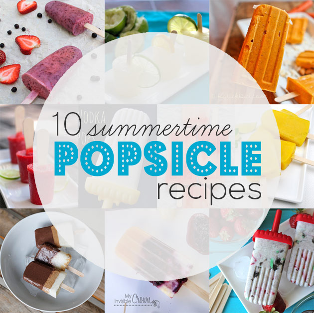 Cool Off with 10 Summertime Popsicle Recipes