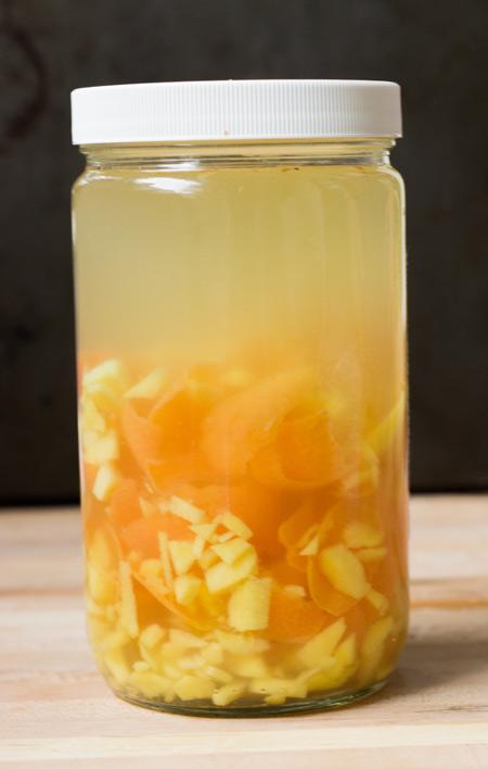 How to Make Grapefruit Ginger Infused Vodka