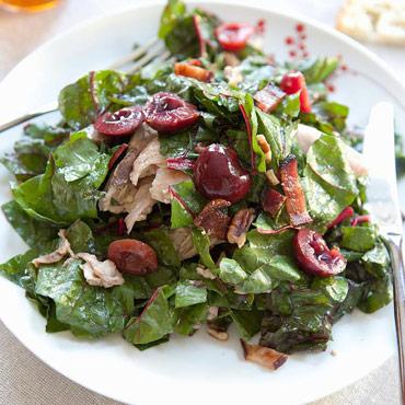 HOT - Rainbow Chard Salad