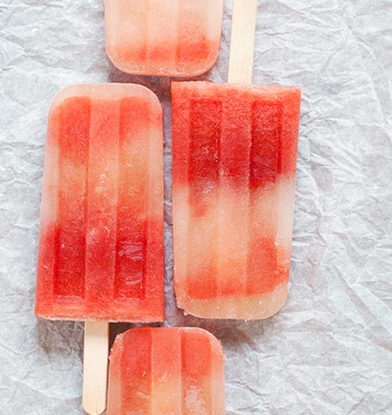 Watermelon Mint Tequila Popsicle