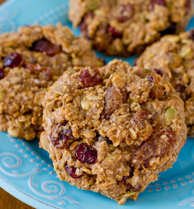 Gluten Free Breakfast Cookies from Sally's Baking Addiction on NoshOnIt