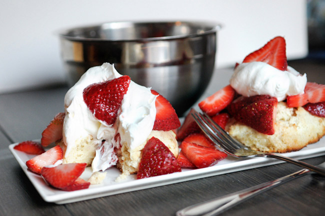 Strawberry Shortcake for Two from Heather's Dish on NoshOnIt