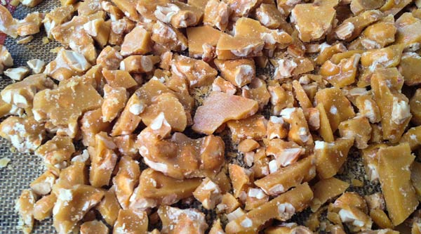 Great Food Blogger Cookie Swap - Peanut Brittle