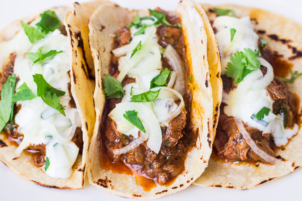 Lamb Vindaloo Tacos