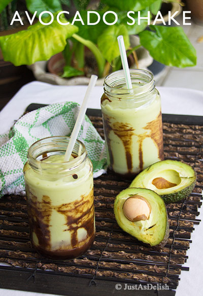 Indonesian Avocado Shake