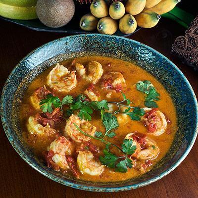 Burmese Shrimp Curry