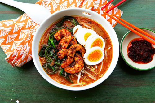 Malaysian Prawn Noodle (Hae Mee)